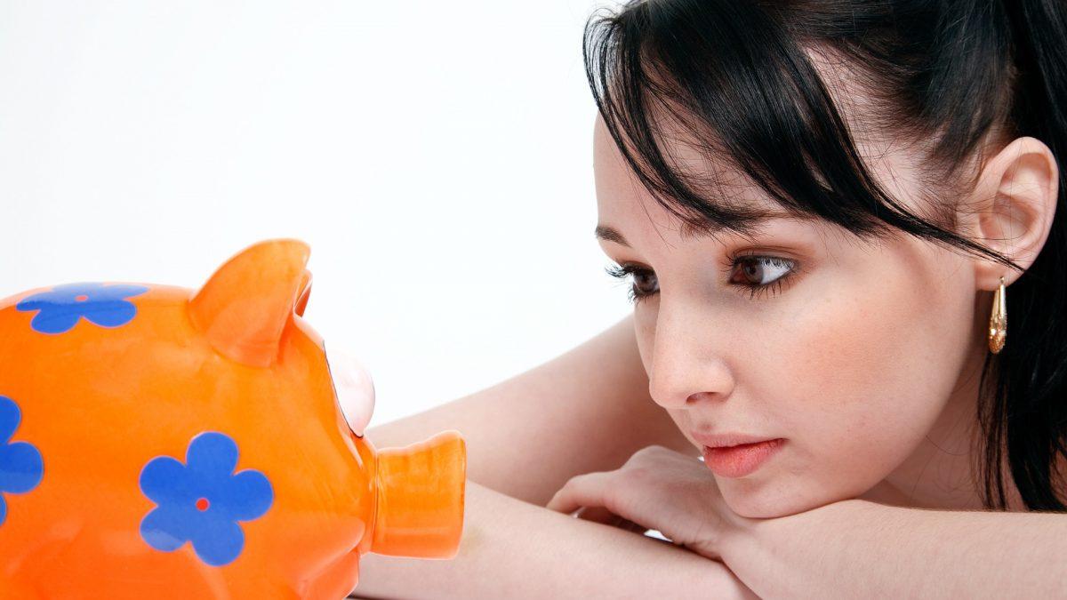sparegris økonomi opsparing